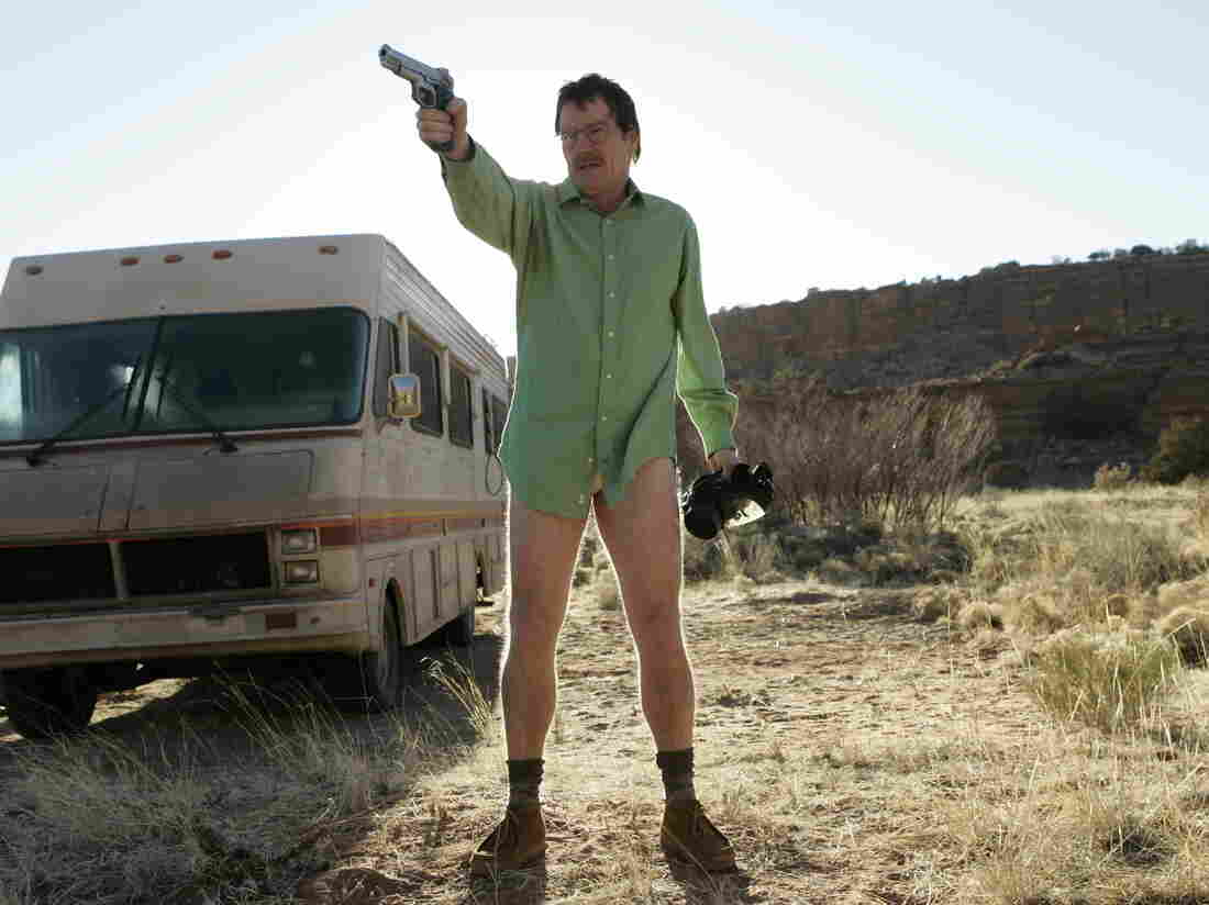 """How could you not feel sorry for this guy? Vince Gilligan even admitted that he loaded up the Breaking Bad pilot with """"reasons to give a damn about"""" Walter White."""