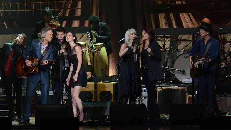 The finale of the Americana Music Association Honors and Awards show.