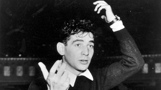 Leonard Bernstein's Age of Anxiety symphony is as unconventional as its creator. (Courtesy of Library of Congress)