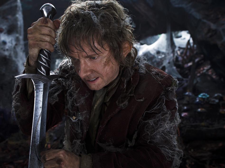 Martin Freeman as the Hobbit Bilbo Baggins in <em>The Hobbit: The Desolation Of Smaug</em>. (Mark Pokorny/Warner Brothers Pictures)