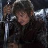Martin Freeman as the Hobbit Bilbo Baggins in The Hobbit: The Desolation Of Smaug.
