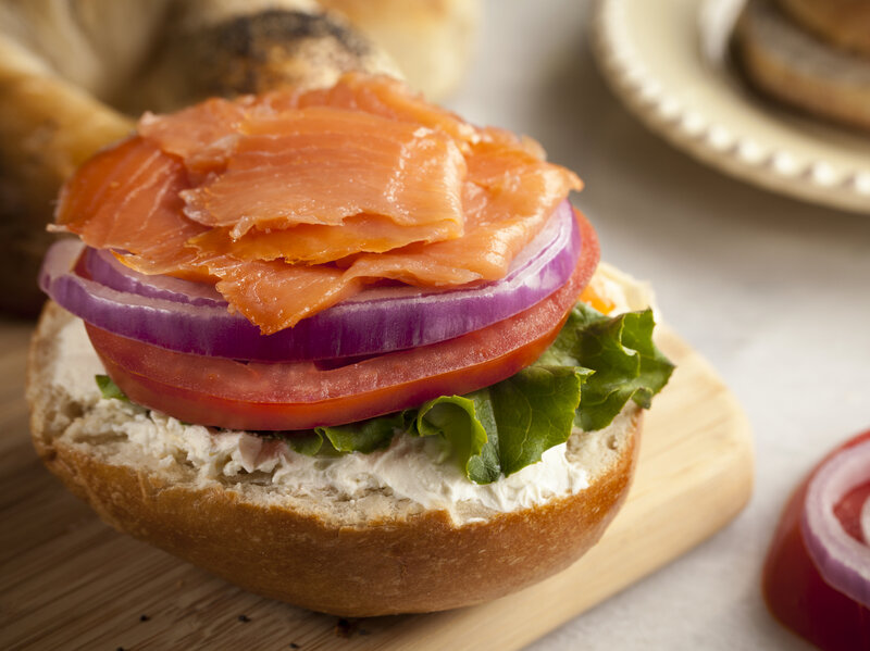 no schmear job a brief history of bagels and lox the salt npr