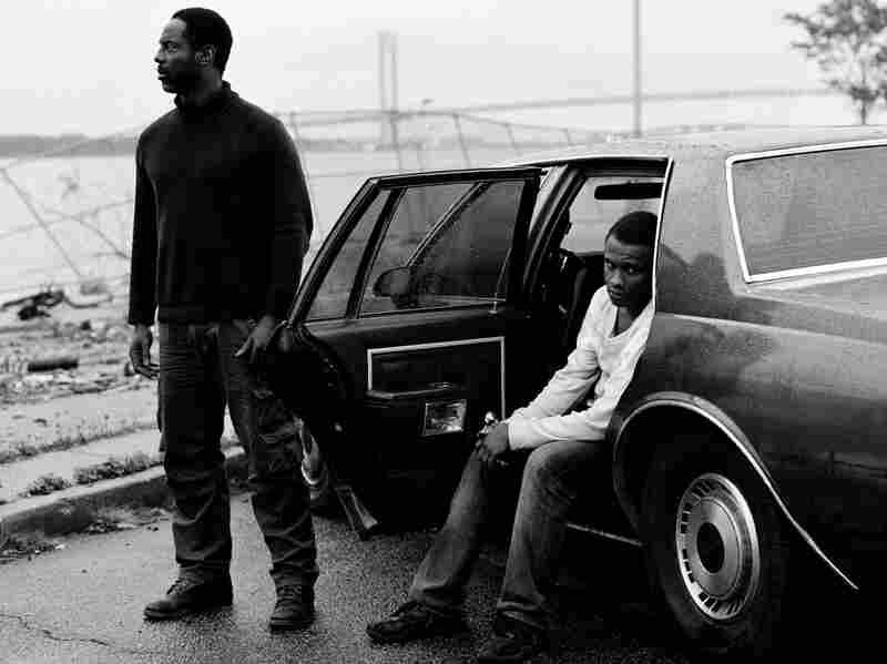 Isaiah Washington (left) plays a sort of fatal father figure to Tequan Richmond's Lee in Blue Caprice. The characters are inspired by the so-called Beltway snipers, who killed 10 people in and around Washington, D.C., in 2002.
