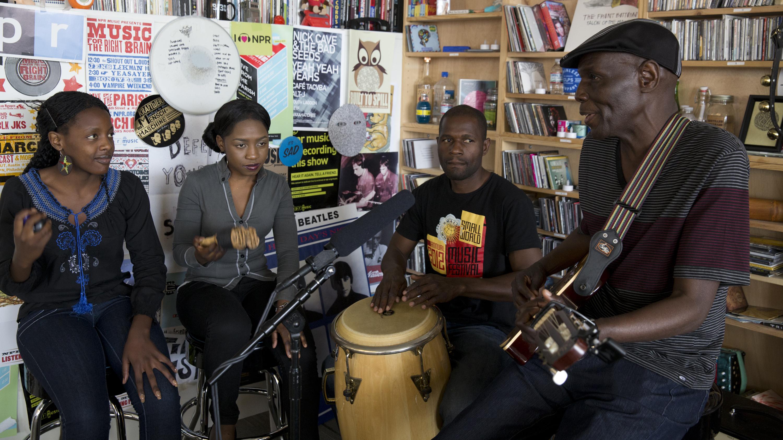 Andrea Echeverri: Oliver 'Tuku' Mtukudzi: Tiny Desk Concert : NPR