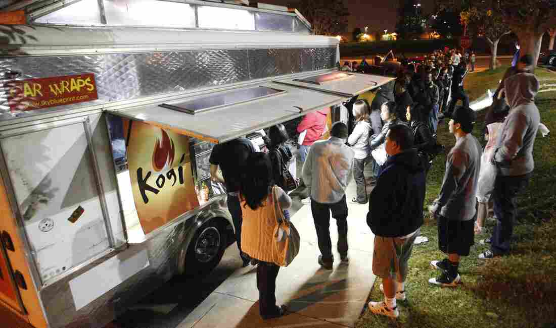 """Kogi food truck chef Roy Choi says he loves L.A. because """"you can be free, you don't have to live up to anyone's expectations or rules."""""""