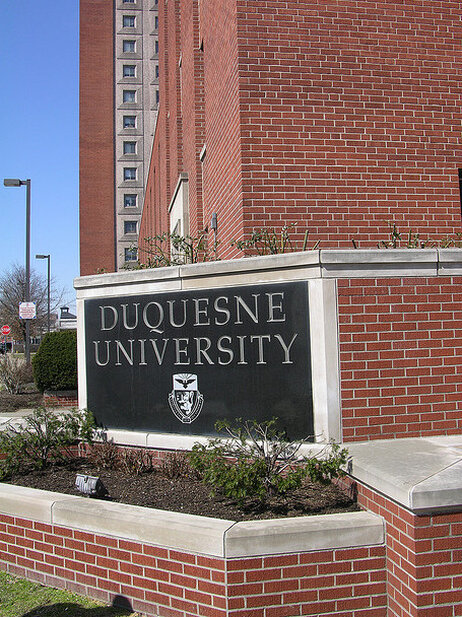 Duquesne Povost Tim Austin says the university tried to help Vojtko and offered her temporary houseing.