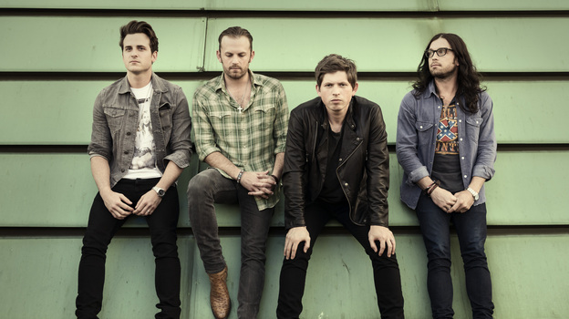 Kings of Leon, left to right: Jared, Caleb, Matthew and Nathan Followill. (Courtesy of the artist)