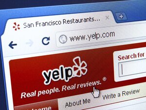 Some reputation management companies required that its writers have a certain number of Yelp friends. Yelp says it welcomed the New York attorney general's crackdown on fake reviewers.