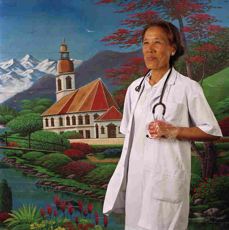 "Pema Sherpa is the first midwife in the world to regularly use the SonoSite portable ultrasound and has traveled between villages on foot to examine women and deliver prenatal care. ""I do a lot of counseling with families and still some men treat women as inferior. Now husbands are coming with their wives in the delivery room so that they can also experience how painful the process is."""