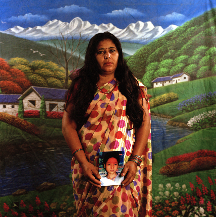 "Devi Sunuwar is the first Dalit woman to bring a murder case to the U.N. High Commissioner for Human Rights. Her achievements were covered in the documentary The Sari Soldiers. ""I was 21 when I gave birth to Maina. Maina was 15 and half years old when she was killed. I am very angry at the perpetrator of her death. I stand up and fight for the rights of women."""