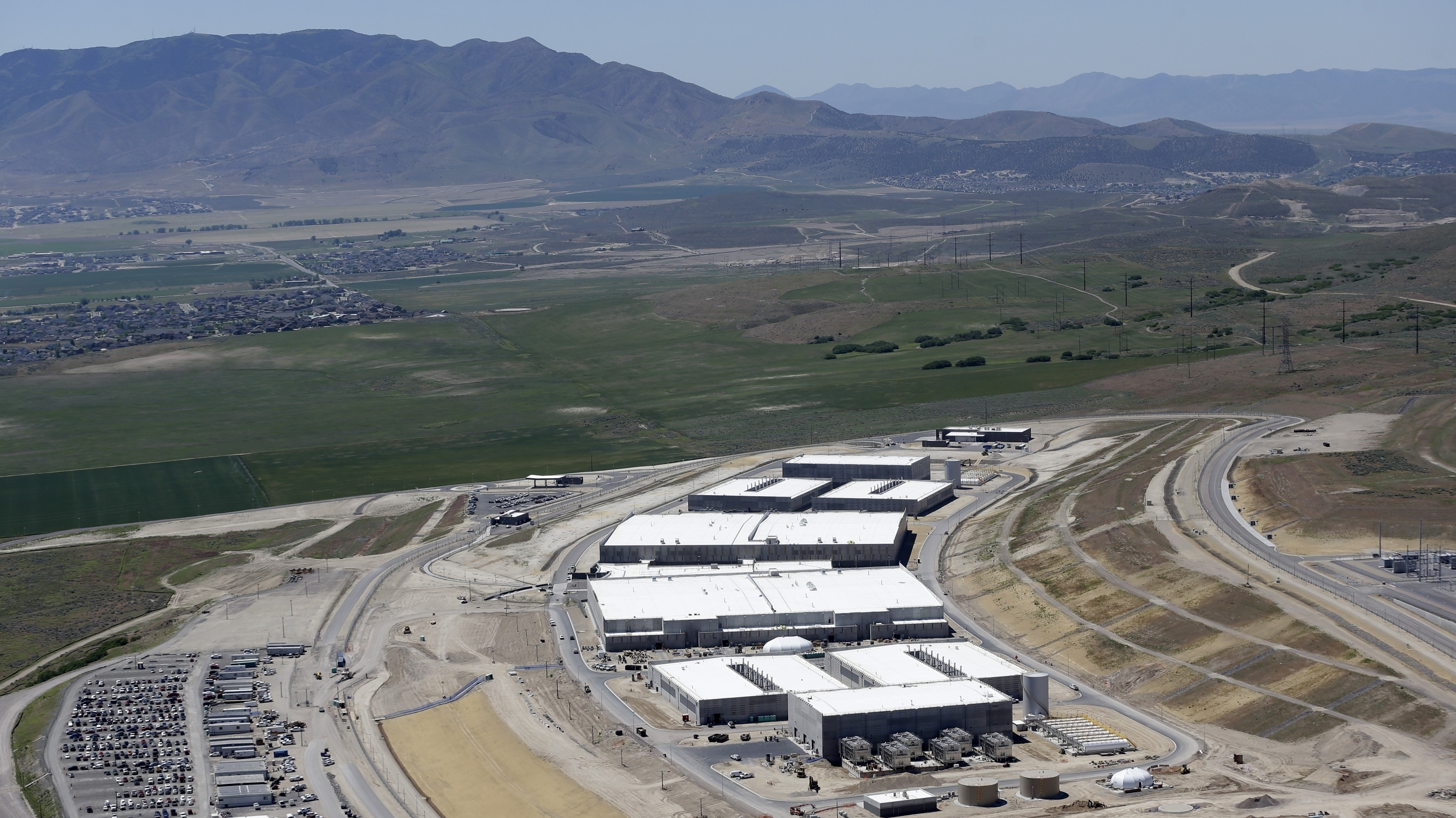 Booting Up: New NSA Data Farm Takes Root In Utah