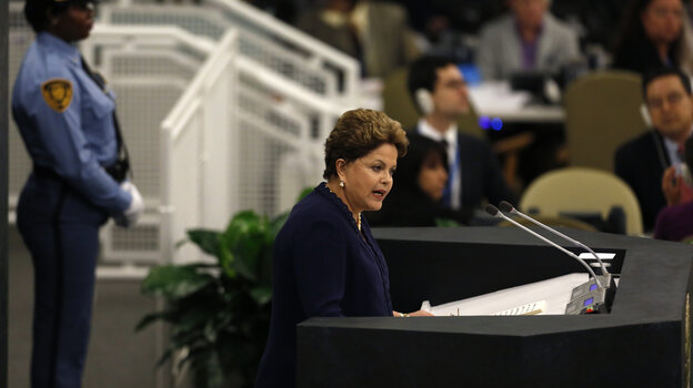 Not Happy: Brazilian Presiden