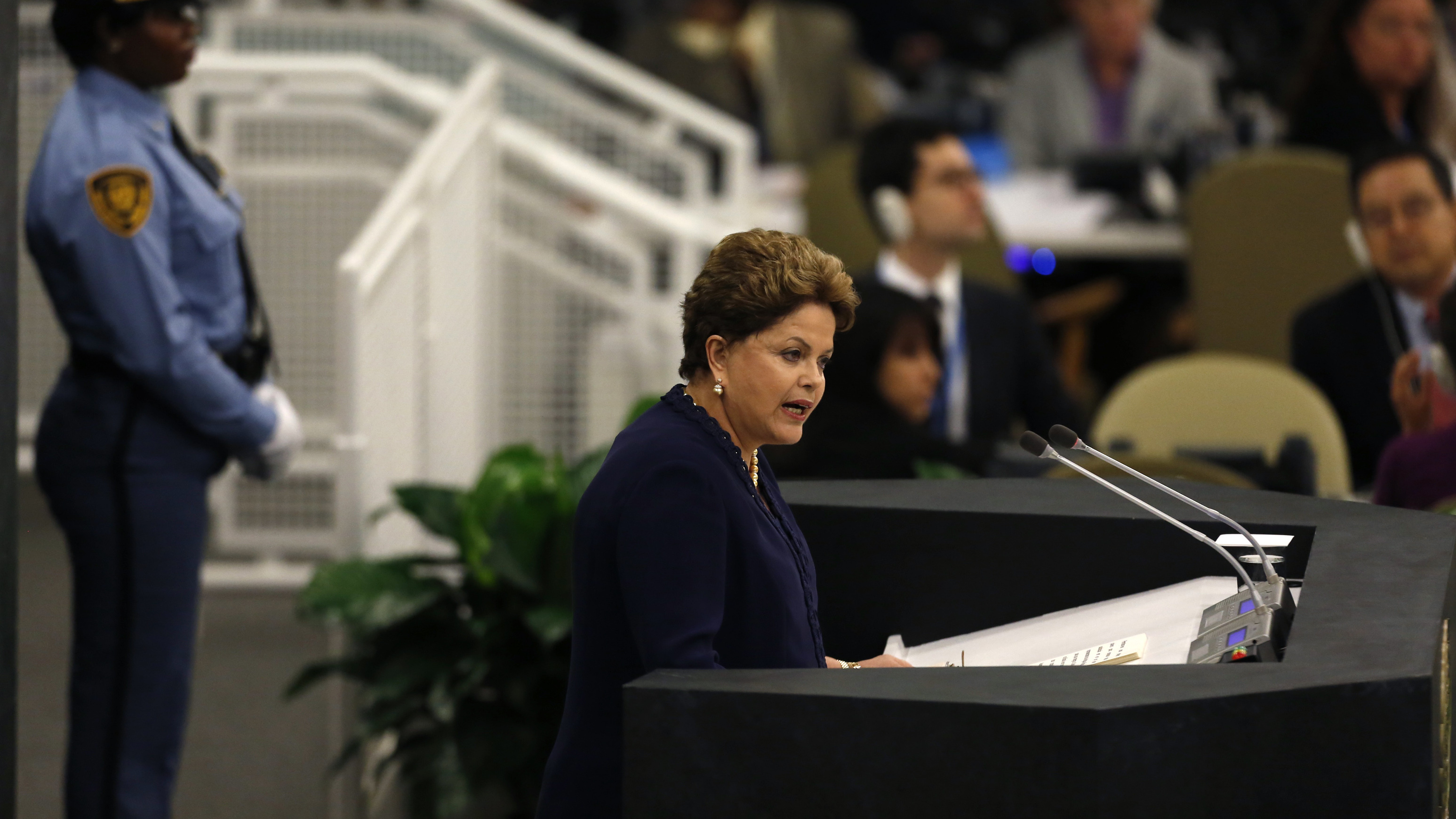 Brazilian President Lashes Out Over U.S. Spying