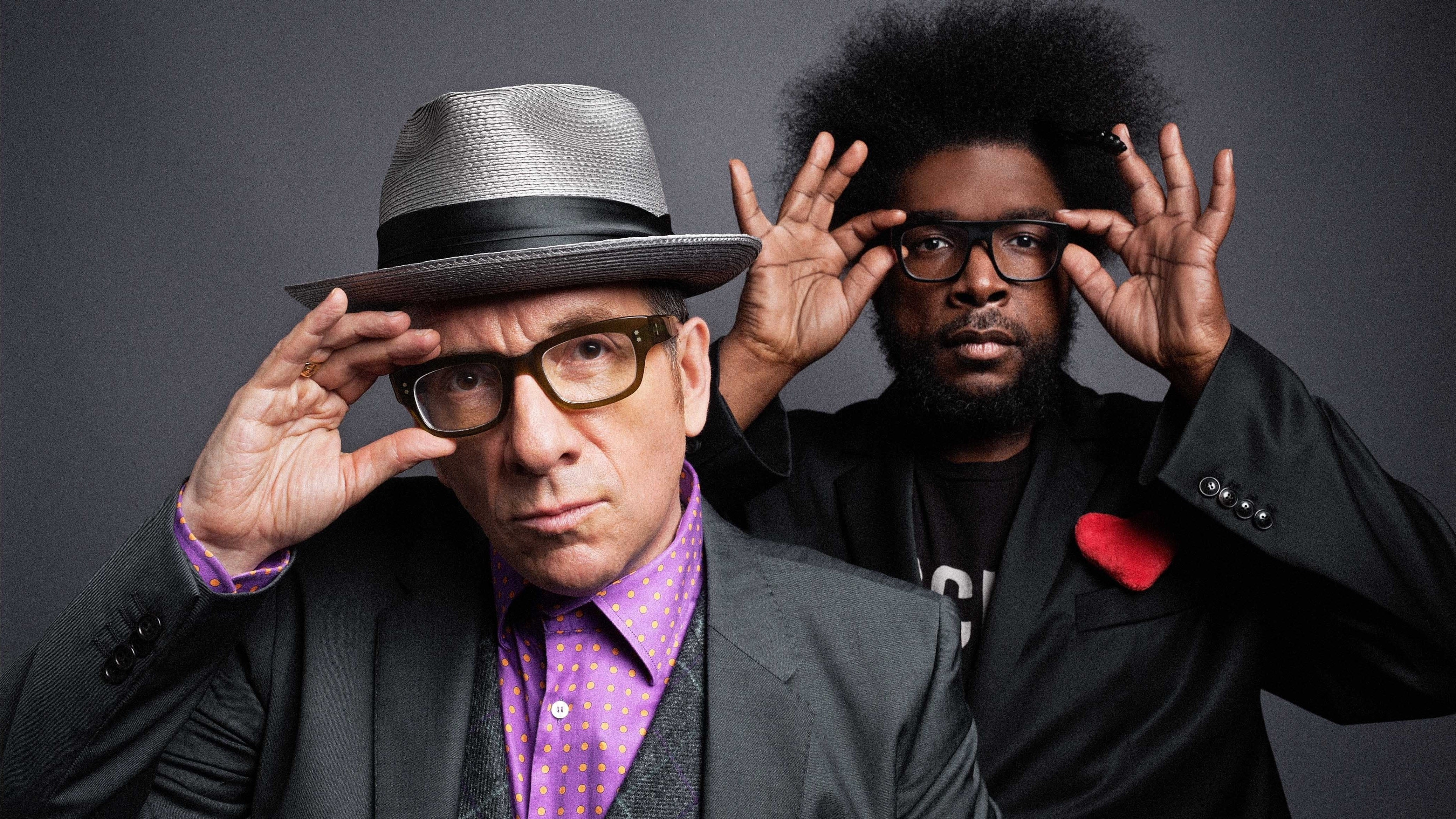 Elvis Costello And The Roots On World Cafe