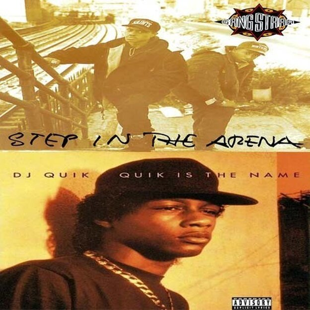 Gang Starr, Step In The Arena vs. DJ Quik, Quik Is The Name