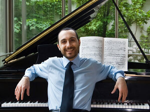 Antonio Pompa-Baldi enjoys mixing up his repertoire with neglected composers and music not originally written for the piano.