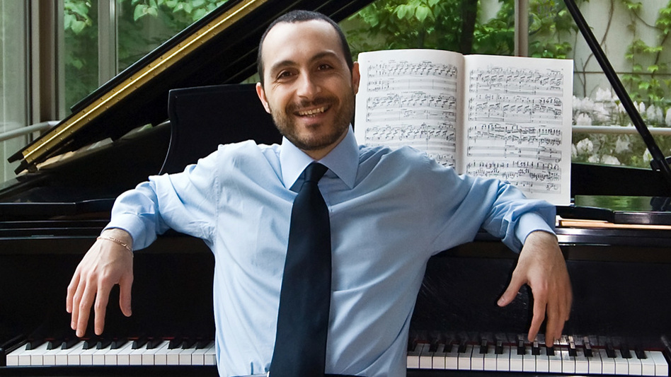 Antonio Pompa-Baldi enjoys mixing up his repertoire with neglected composers and music not originally written for the piano. (Courtesy of the artist)