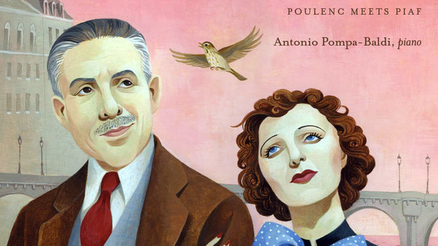 Antonio Pompa-Baldi's new album is a tribute to Francis Poulenc and Edith Piaf. (Steinway & Sons)