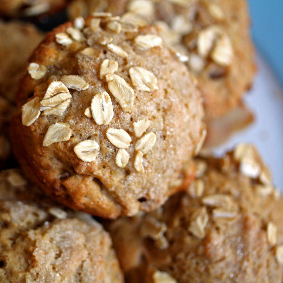 Apple-Walnut Muffins