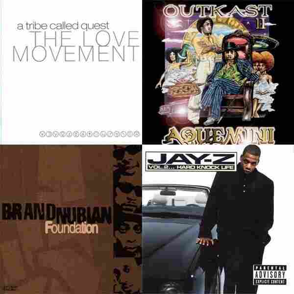 A Tribe Called Quest, The Love Movement vs. OutKast, Aquemini vs. Brand Nubian, The Foundation vs. Jay-Z, Vol. 2, Hard Knock Life