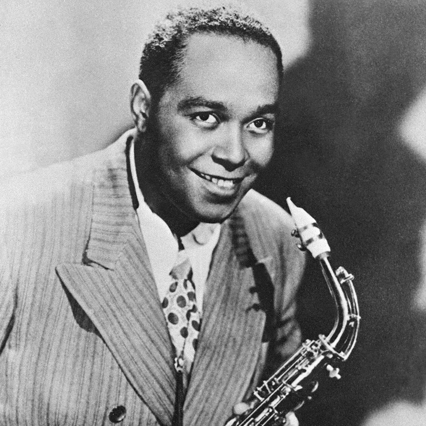 Charlie Parker, shown here in an undated photo, was a legendary jazz saxophonist.