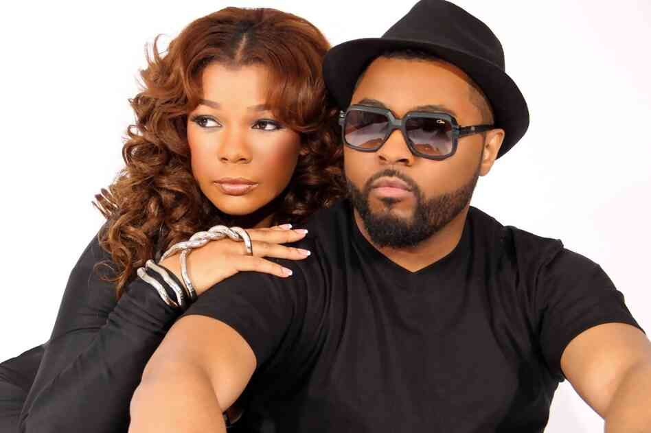 Syleena Johnson with Musiq Soulchild.