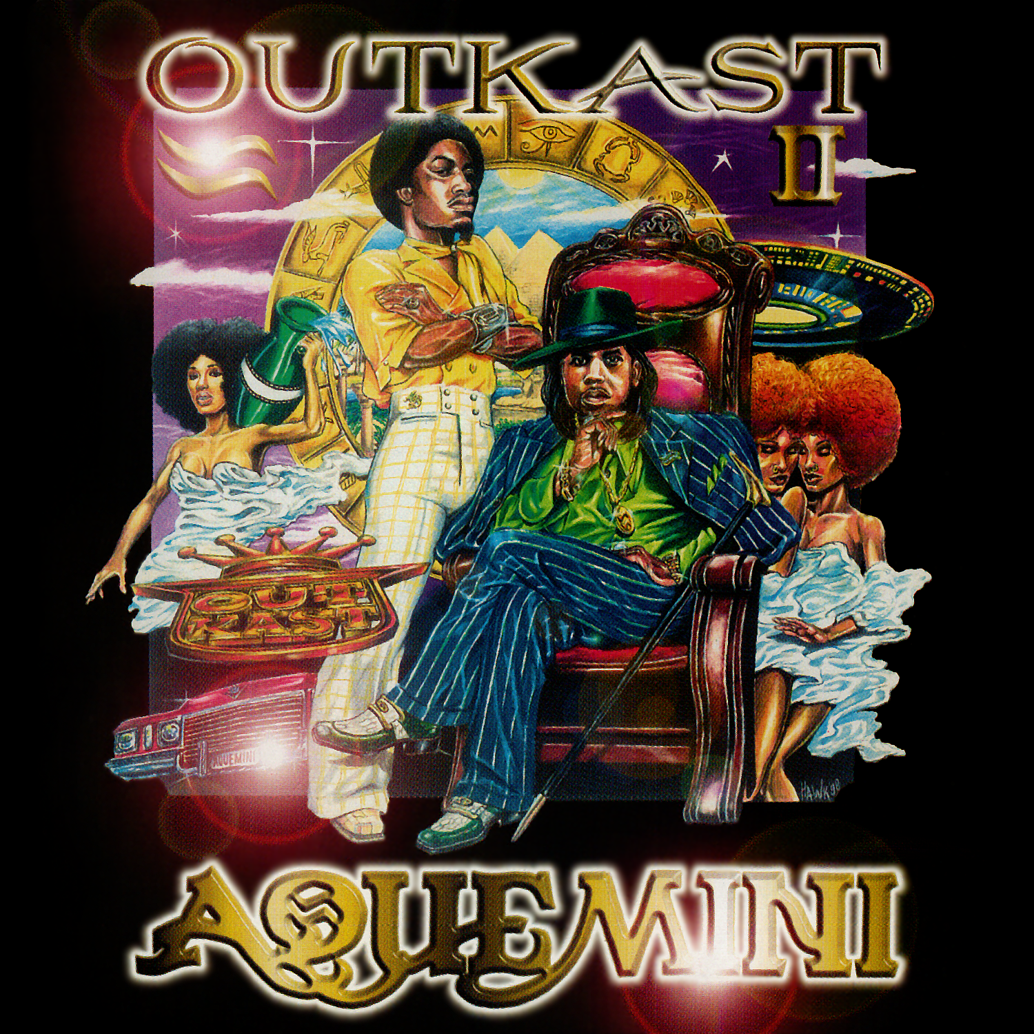 On September 29, 1998, Outkast's Aquemini came out the same day as A Tribe Called Quest's The Love Movement, Brand Nubian's The Foundation and Jay-Z's Vol. 2, Hard Knock Life.