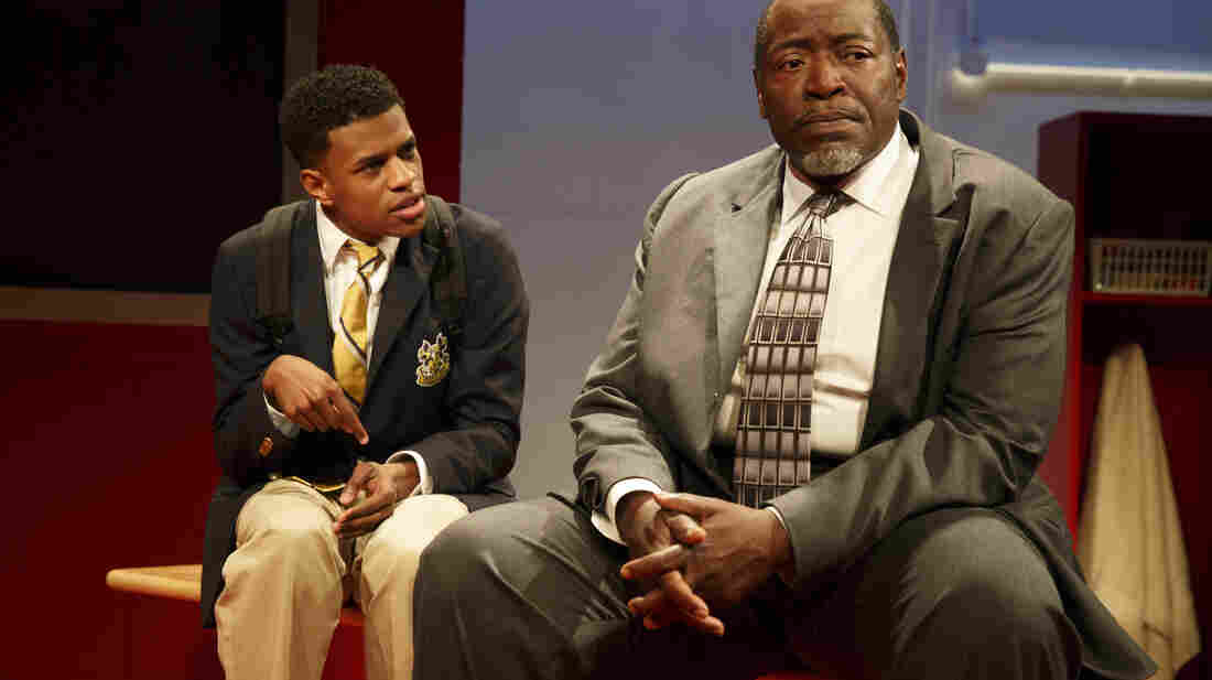 "Jeremy Pope and Chuck Cooper were pupil and principal in Choir Boy at Manhattan Theatre Club this summer. The play is among the work that led to today's recognition of playwright Tarell Alvin McCraney by the MacArthur Foundation, which hands out a raft of so-called ""genius grants"" each year."
