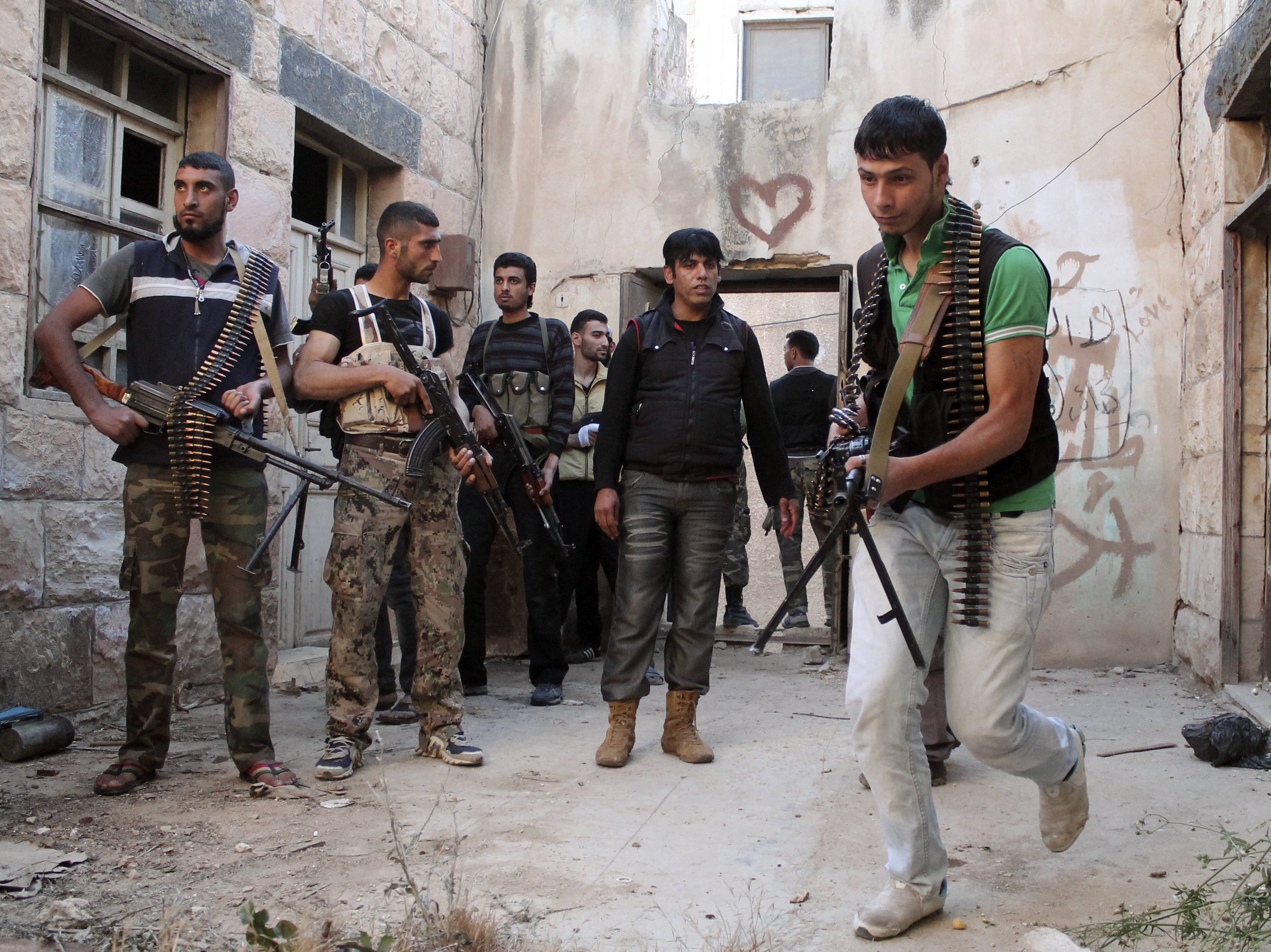 Syrian Rebels: U.S. Distracted By Focus On Chemical Weapons
