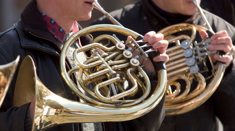 say what french horn players run risk of hearing loss shots