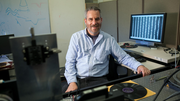 Carl Haber, 2013 MacArthur fellow. (John D. and Catherine T. MacArthur Foundation)