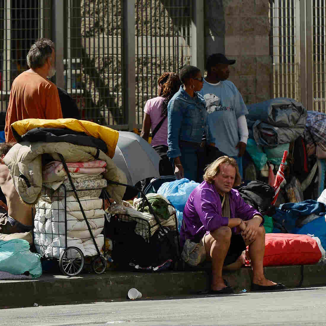 L.A. Puts Chronically Homeless In The Front Of Housing Line