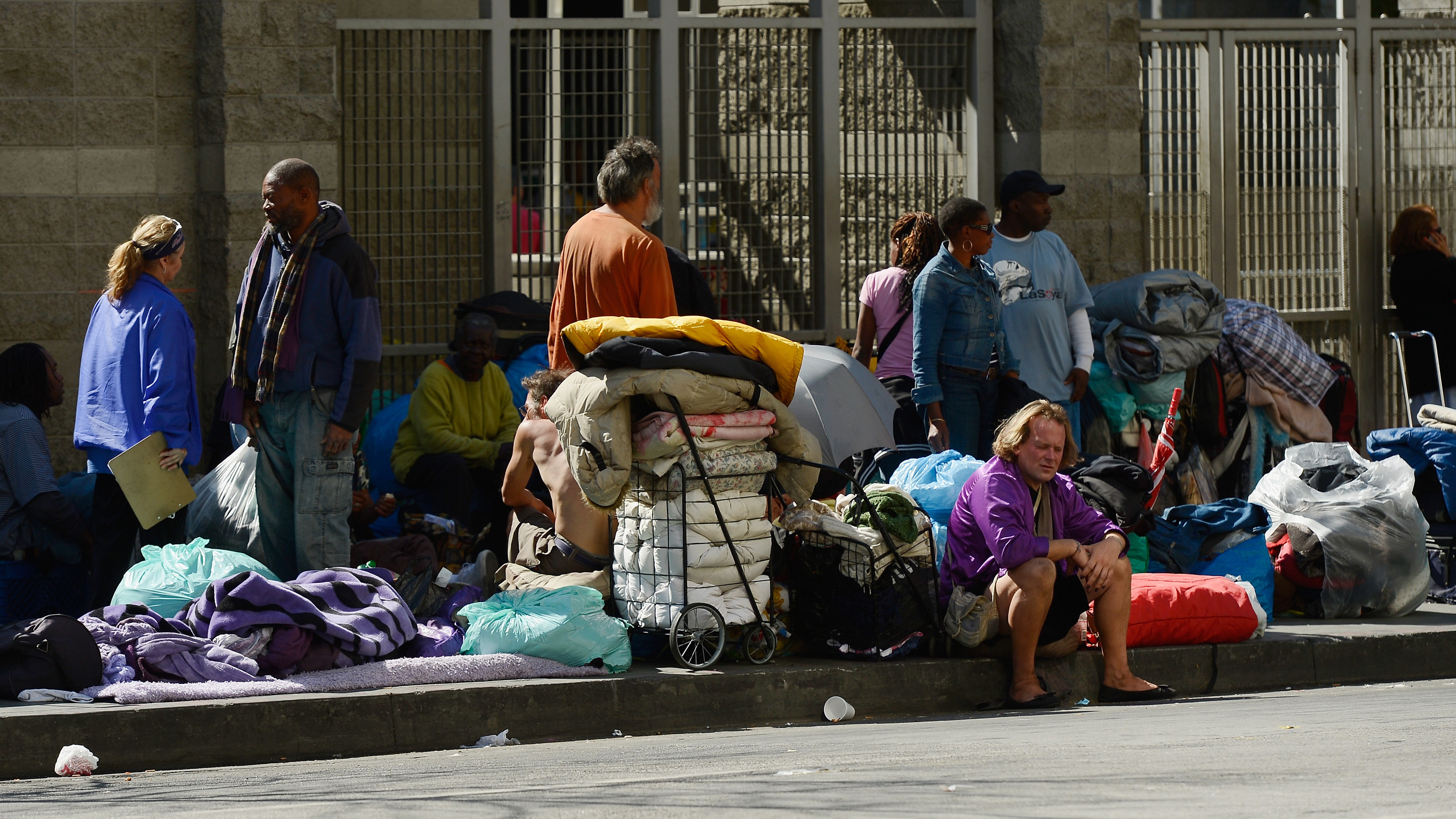 L.A. Puts Chronically Homeless In The Front Of Housing ...