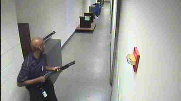 FBI Releases Video Of Navy Yard Shooter Moving Through Building