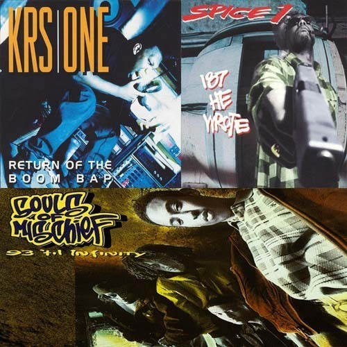 KRS-One, Return Of The Boom Bap vs. Spice 1, 187 He Wrote vs. Souls Of Mischief, 93 'Til Infinity