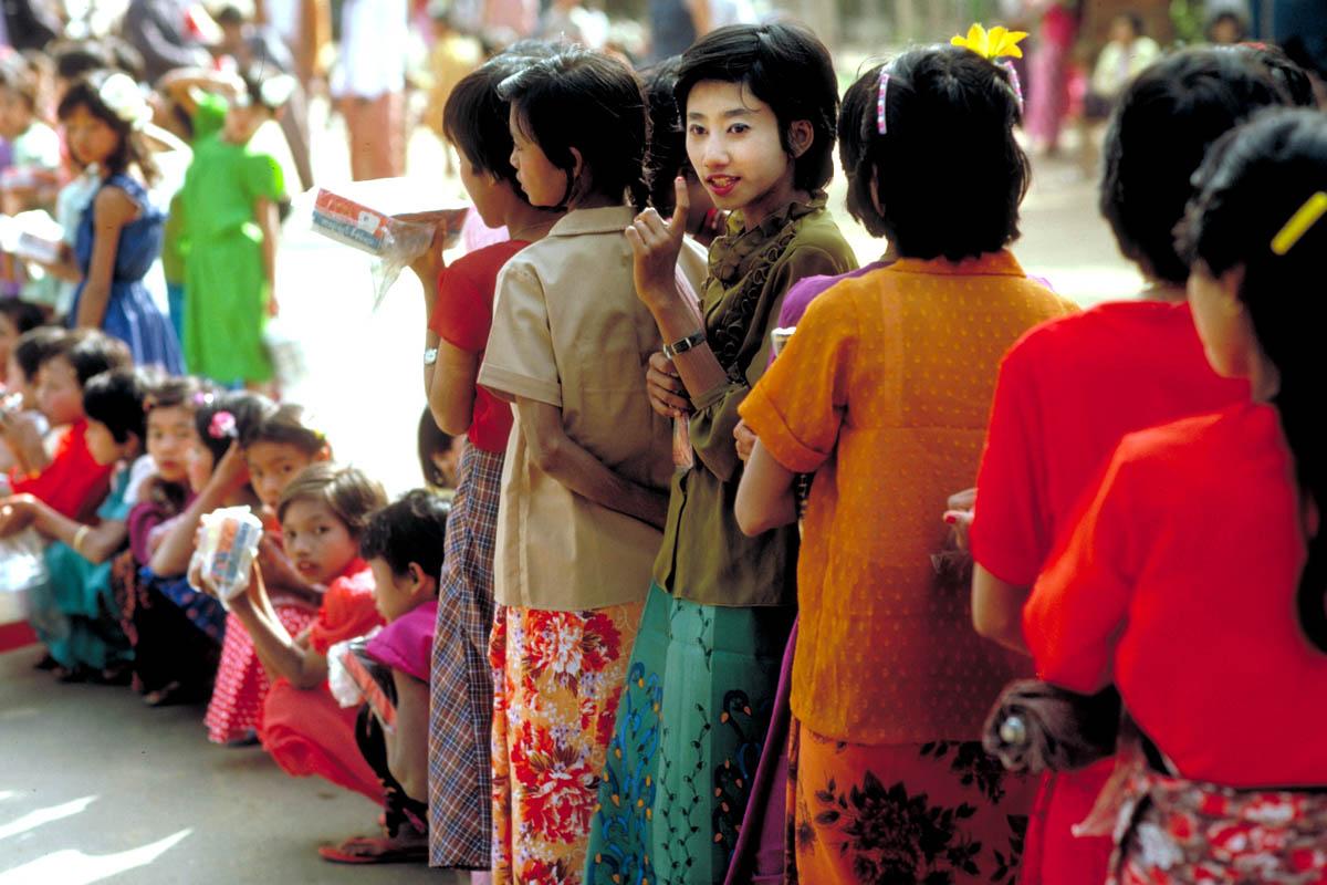 Procession, Bagan, 1987