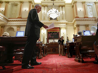 California State Sen. Darrell Steinberg applauded the governor for signing the legislation, saying that it gives minors