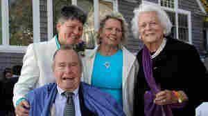 George H.W. Bush Is Witness At Same-Sex Wedding Of Friends