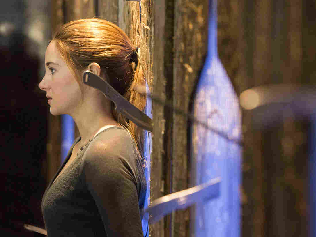 Shailene Woodley plays Beatrice Prior in the upcoming movie Divergent (March 2014), based on the dystopian young adult novel by Veronica Roth. The hugely popular book contains themes of economic struggle and class warfare.