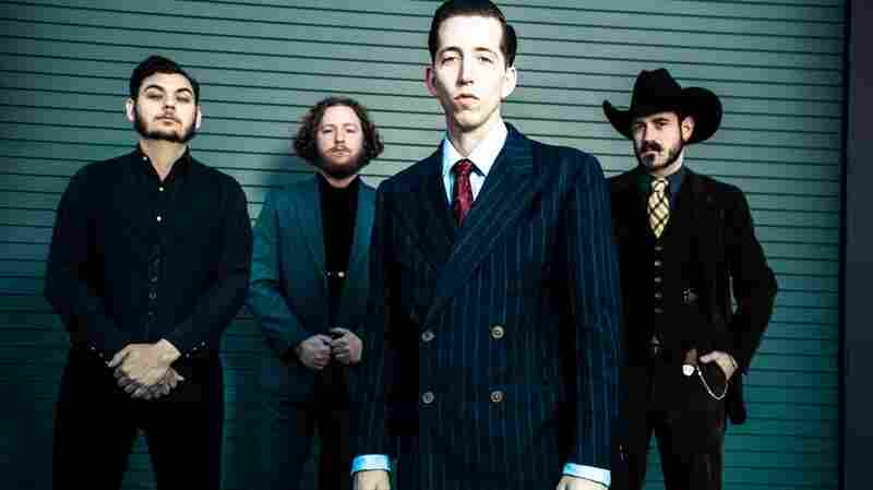 Pokey LaFarge and his band, the South City Three.