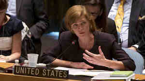 U.S. Ambassador Samantha Power.