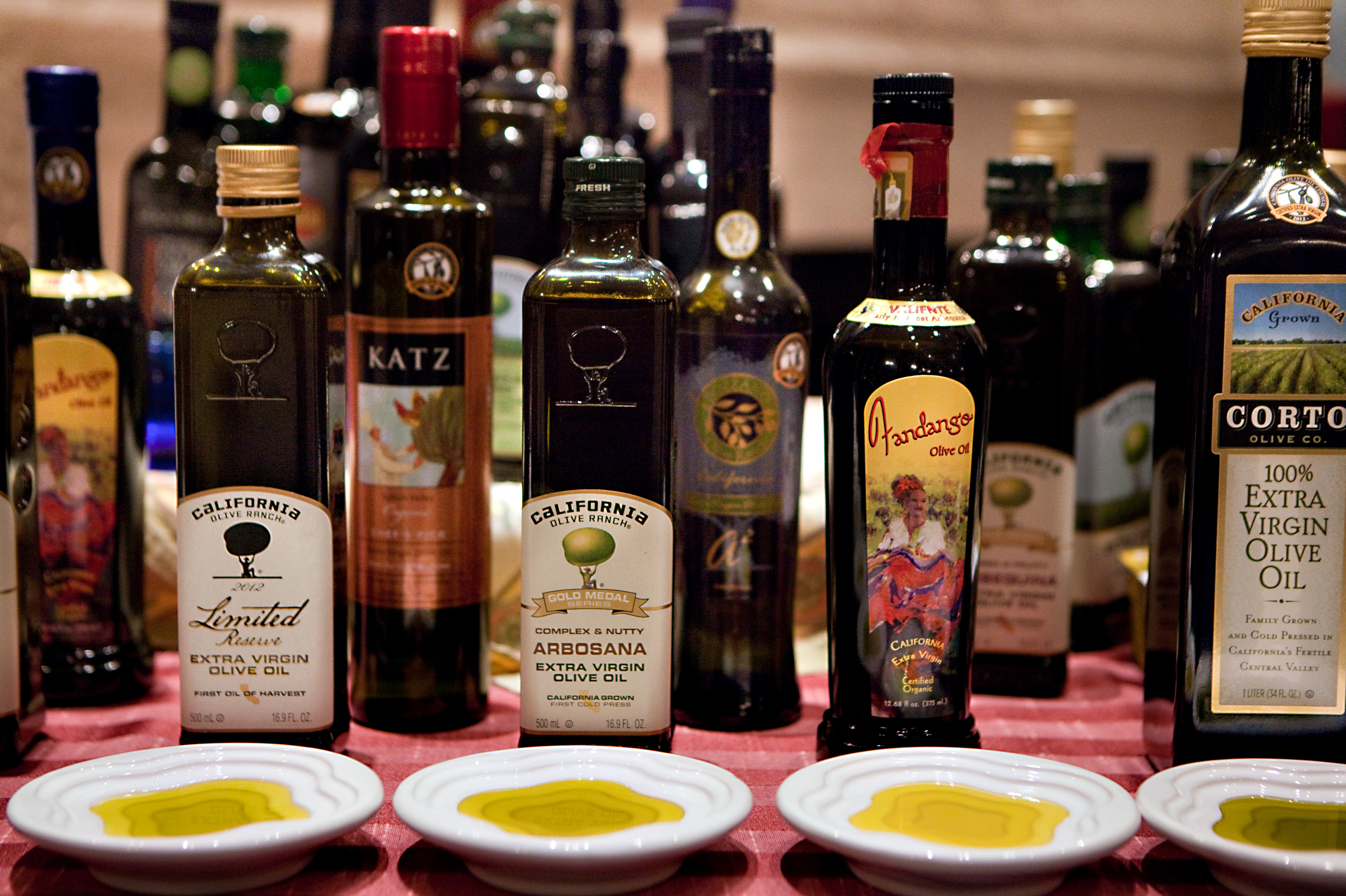 Surprise: Some of the best-tasting extra-virgin olive oils are now being produced domestically. Think Texas, California, Florida.