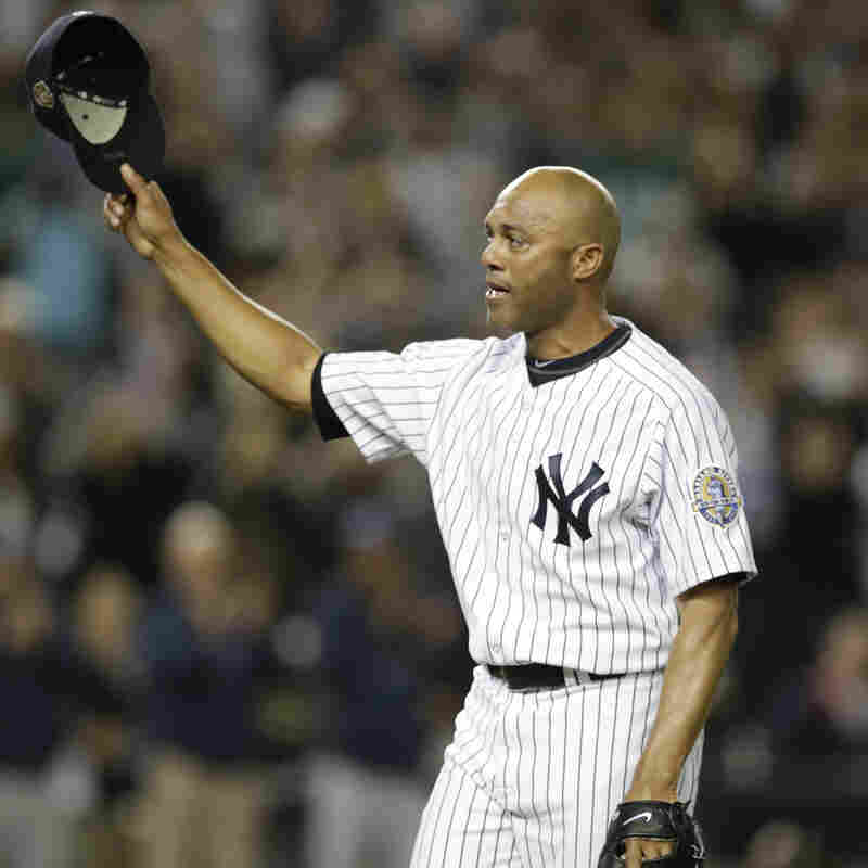 VIDEO: Yankees Great Mariano Rivera Bids A Tearful Goodbye