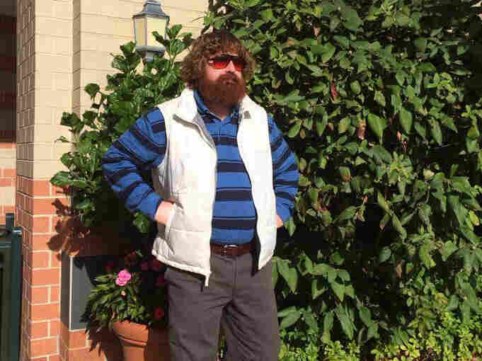 Thaddeus Kalinoski makes more than $200,000 a year as a Zach Galifianakis impersonator.