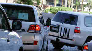 U.N. Team Looking At Attacks Assad Blamed On Rebels