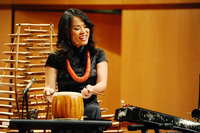 "Van-Anh Vanessa Vo plays the dan tranh zither, a Vietnamese string instrument, in the song ""3 Gnossiennes: Gnossiennes No. 3."""