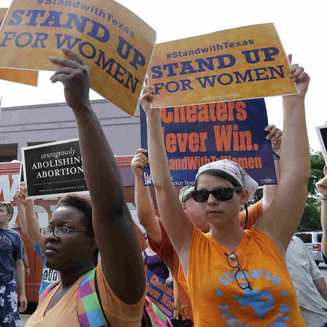 Women's Health Groups Sue Texas Over Its New Abortion Law
