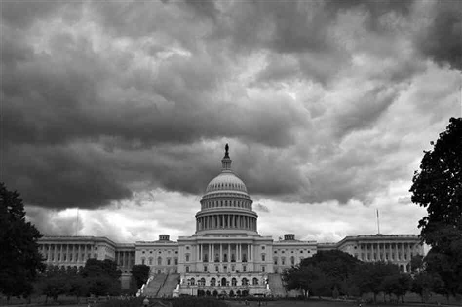 There's definitely an air of foreboding as Washington prepares for a partial government shutdown.