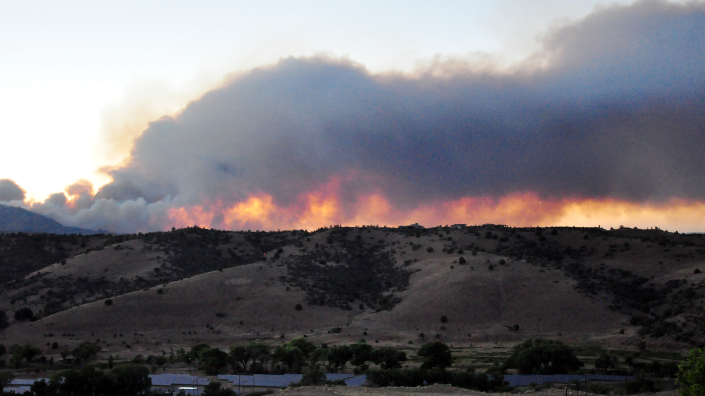 Is Living With Extreme Wildfires The New Normal Npr