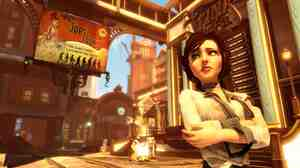 What's that worried look, Elizabeth? Could it be that there's more to BioShock Inifinite than meets the eye?